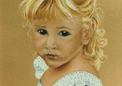 PORTRAIT OF CHARLOTTE IN PASTEL